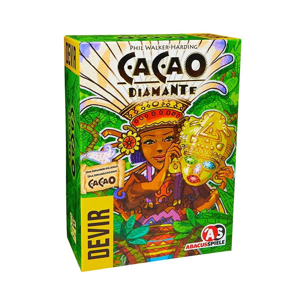 Cacao: Diamante - Expansão Jogo de Tabuleiro - Editora Devir (em português)