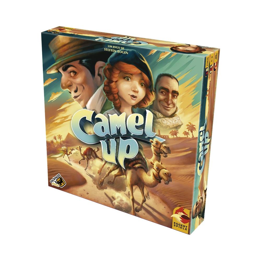 Camel Up (Segunda Edicao) - Jogo de Tabuleiro - Galápagos Jogos (em português)