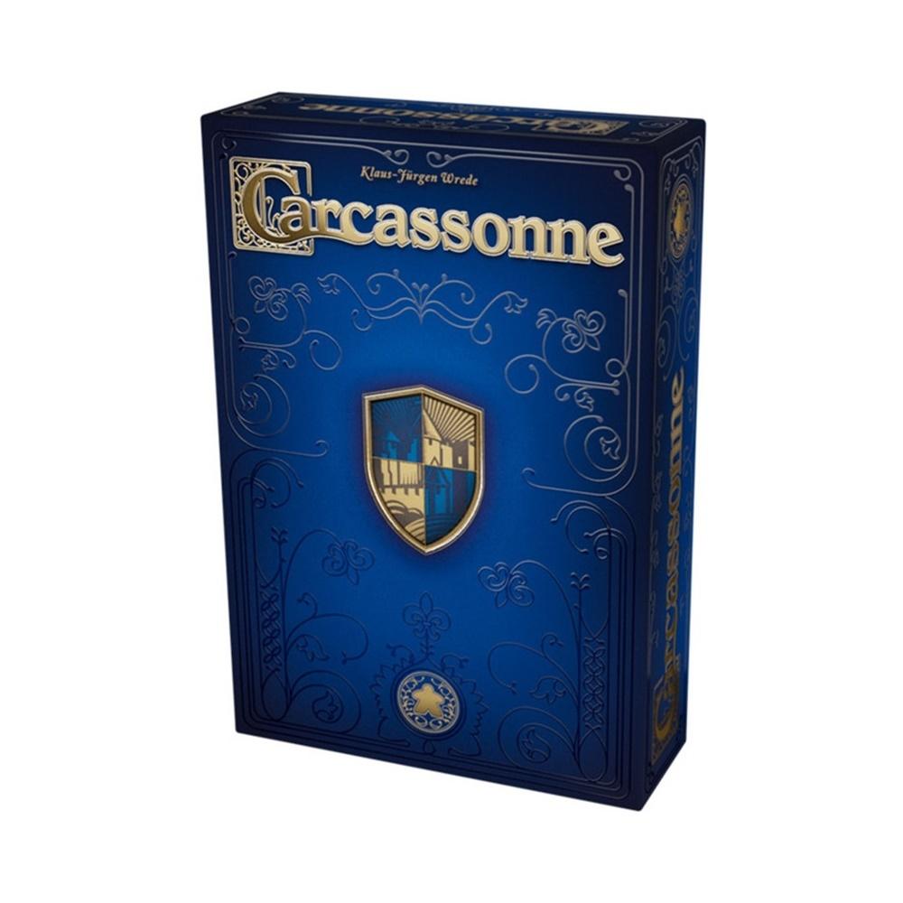 Carcassonne 20º Aniverário - Jogo de Tabuleiro - Editora Devir (em português)