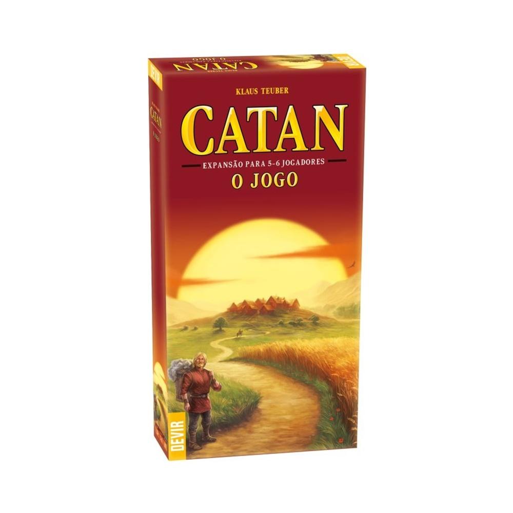 Catan: Expansão para 5 e 6 Jogadores - Jogo de Tabuleiro - Editora Devir (em português)