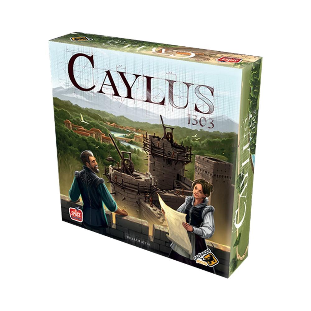 Caylus 1303 - Jogo de Tabuleiro - Galápagos Jogos (em português)