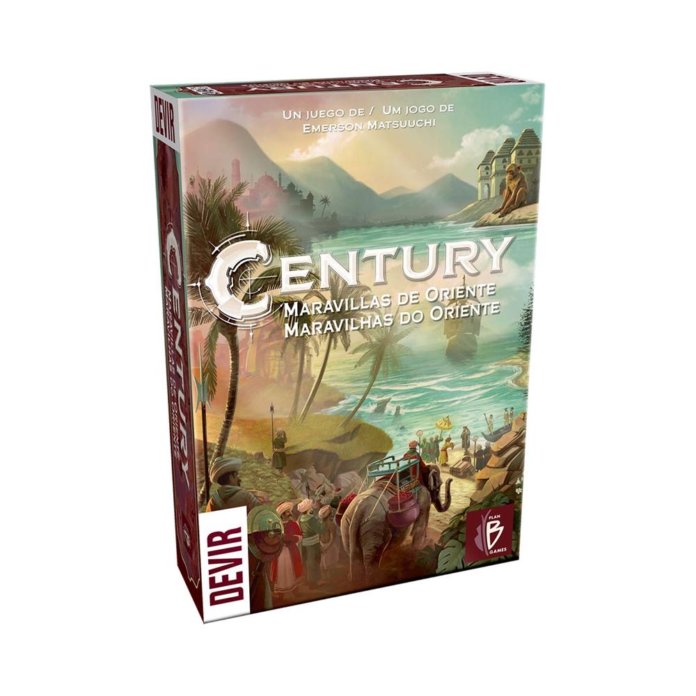 Century Maravilhas do Oriente - Jogo de Tabuleiro - Editora Devir (em português)
