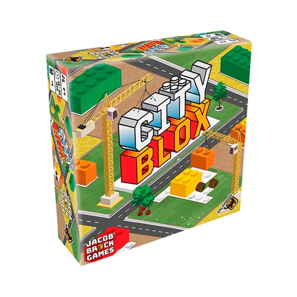 City Blox - Jogo de Tabuleiro - Galápagos Jogos (em português)