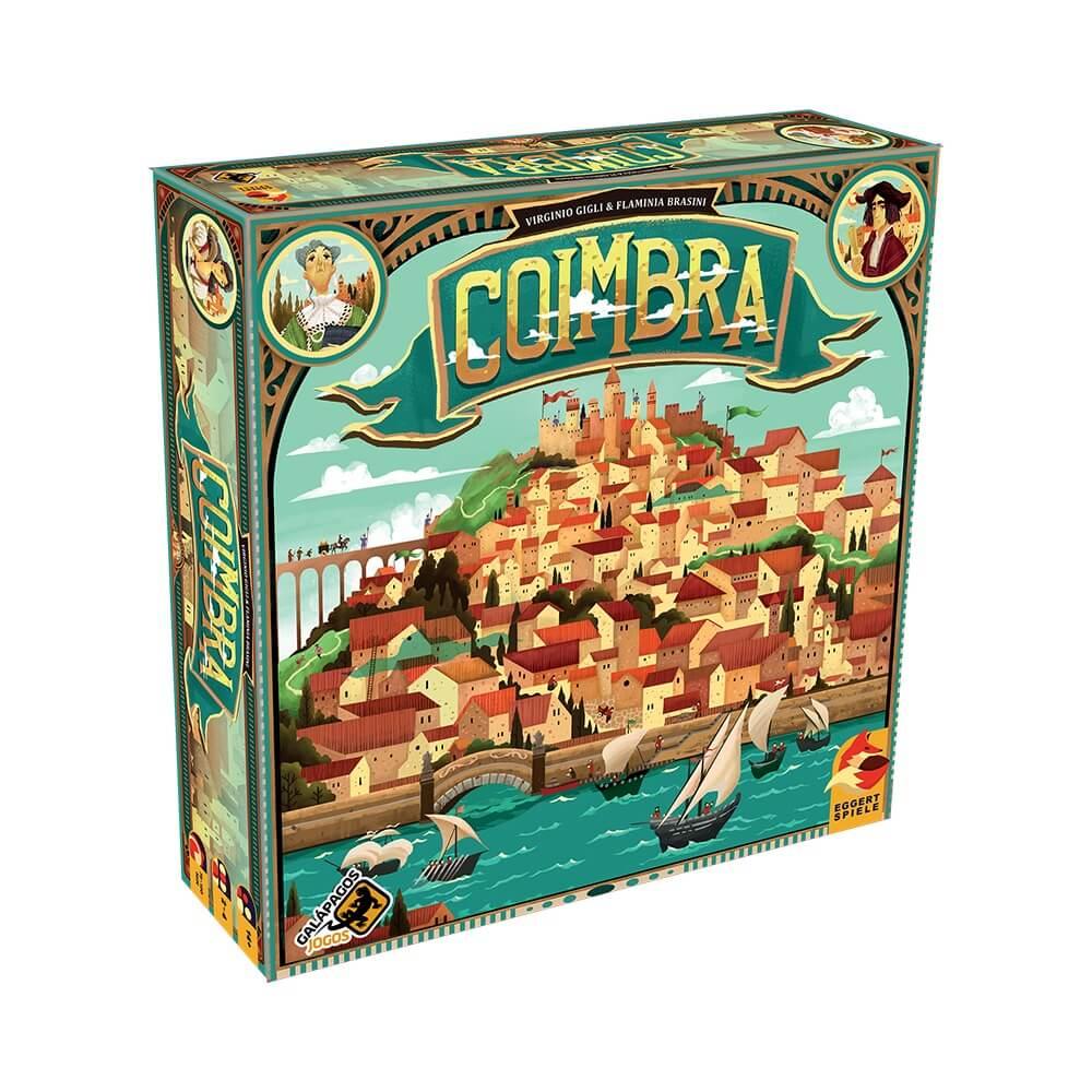 Coimbra - Jogo de Tabuleiro - Galápagos Jogos (em português)