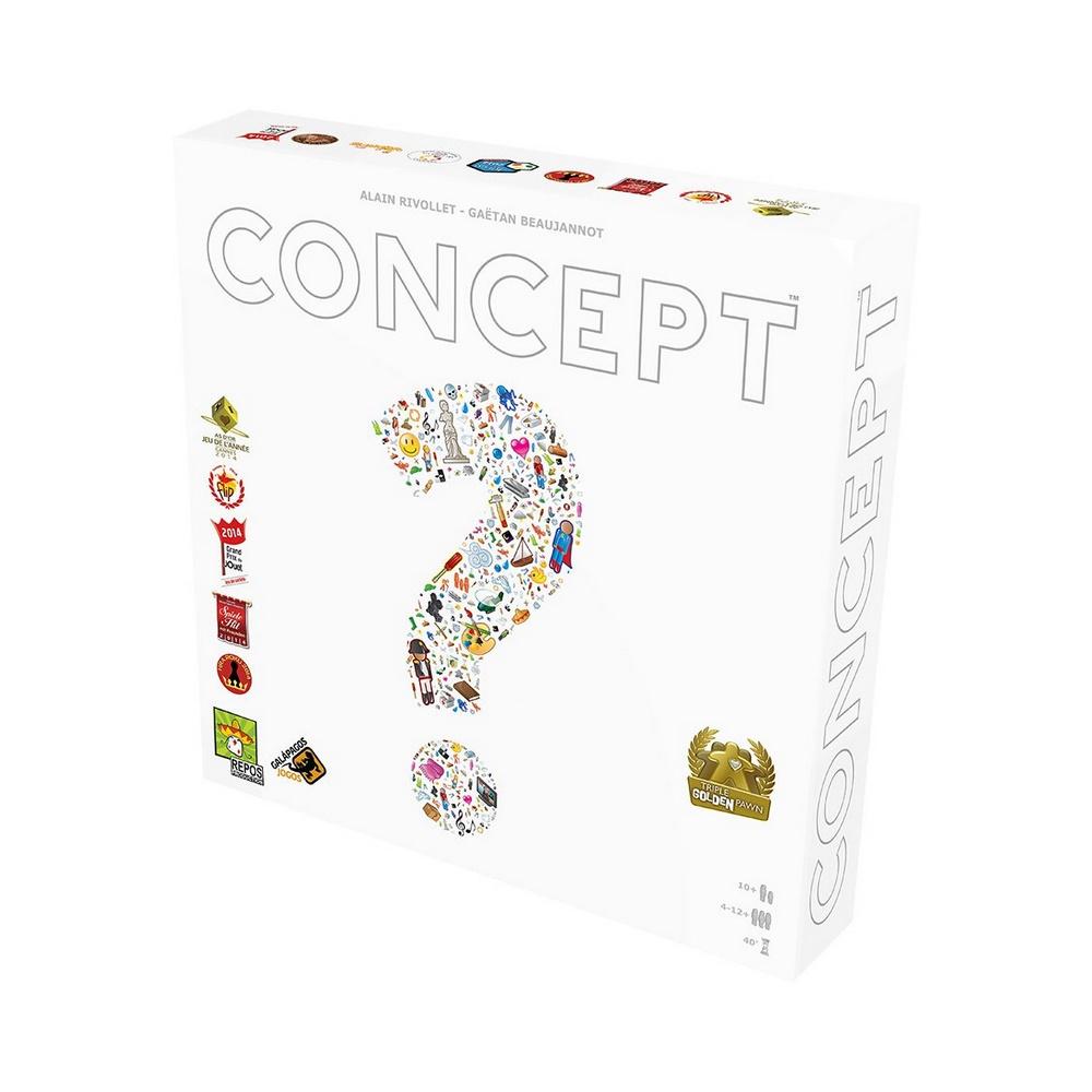 Concept - Jogo de Tabuleiro - Galápagos Jogos (em português)