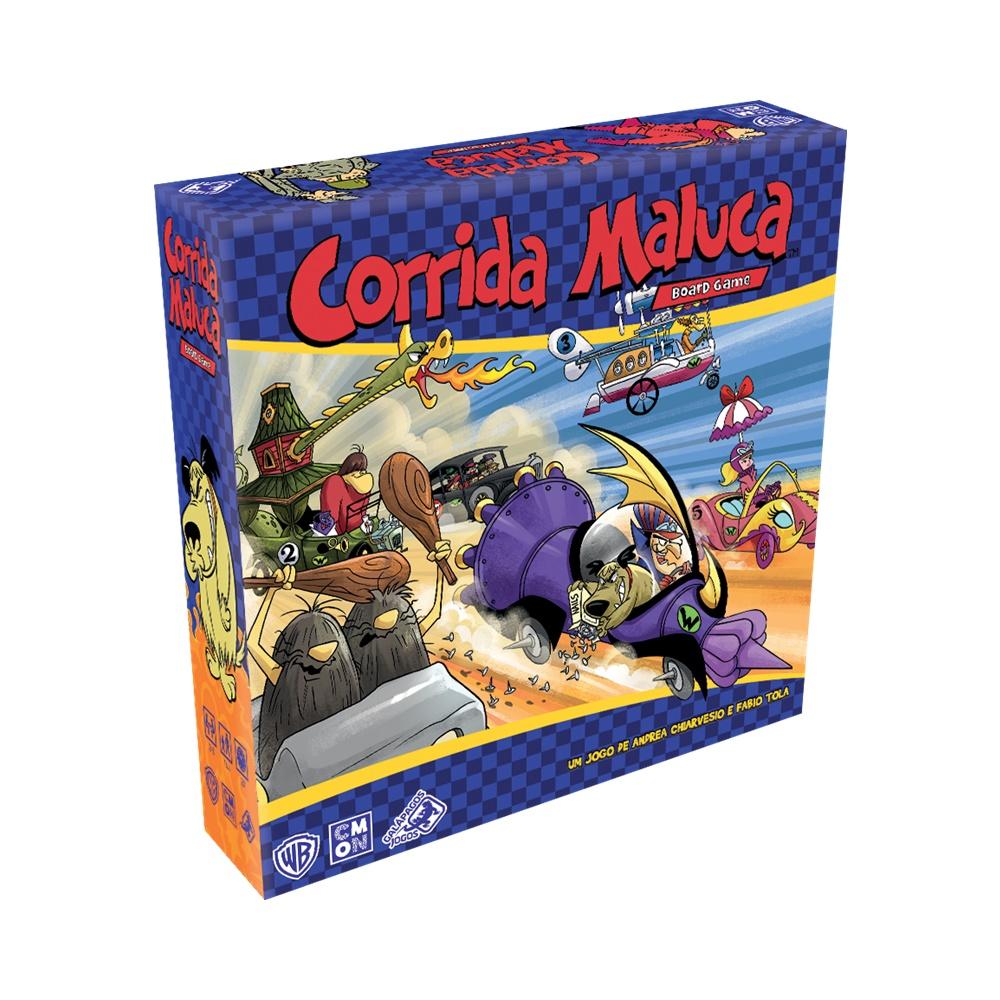Corrida Maluca - Jogo de Tabuleiro - Galápagos Jogos (em português)