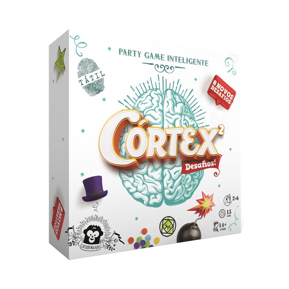 Cortex 2 - Jogo de Tabuleiro - Grok Games (em português)
