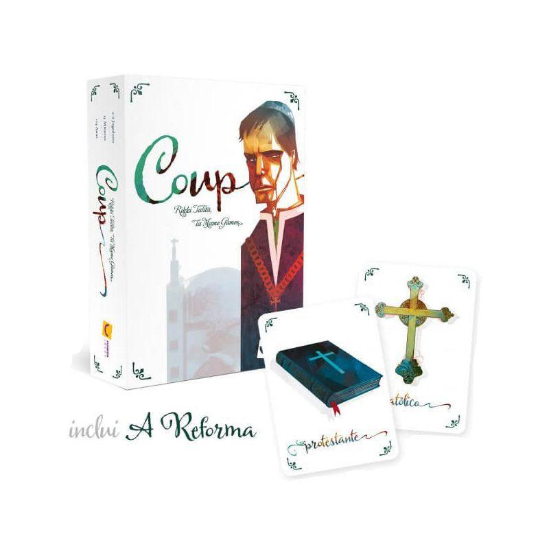 Coup 2ª Edição (inclui A Reforma) + Sleeves