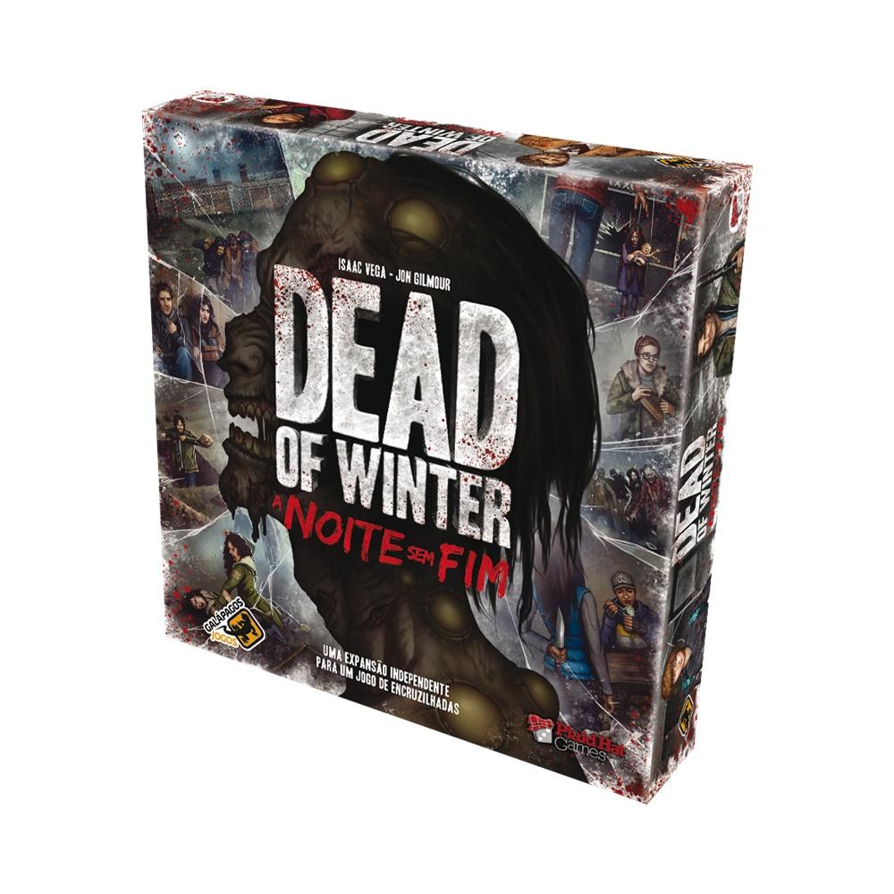 Dead of Winter: A Noite sem Fim - Jogo de Tabuleiro - Galápagos Jogos (em português)