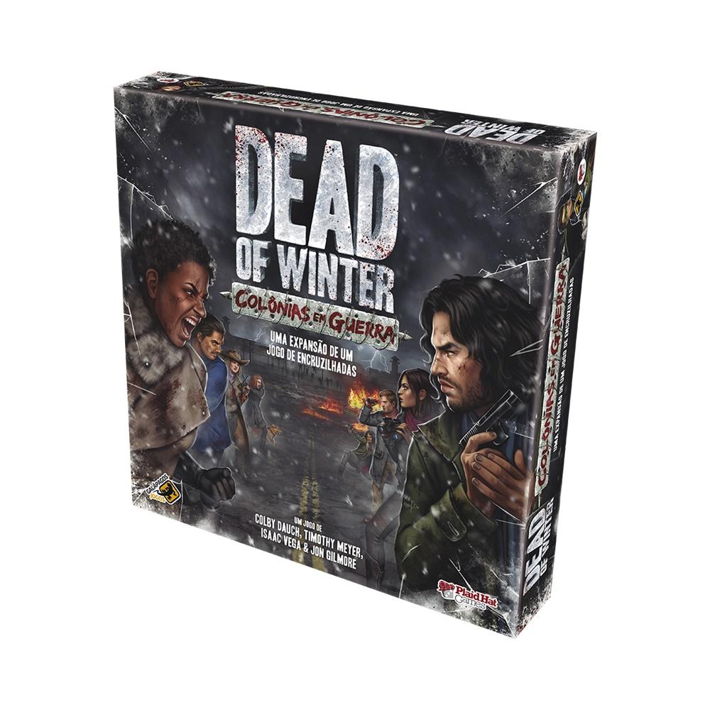 Dead of Winter: Colônias em Guerra - Expansão Jogo de Tabuleiro - Galápagos Jogos (em português)