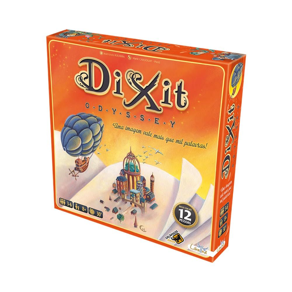 Dixit Odyssey - Jogo de Tabuleiro - Galápagos Jogos (em português)