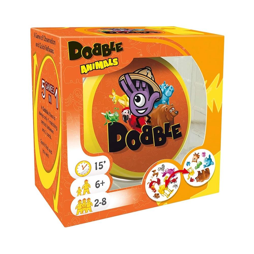Dobble: Animais - Jogo de Cartas - Galápagos Jogos (em português)