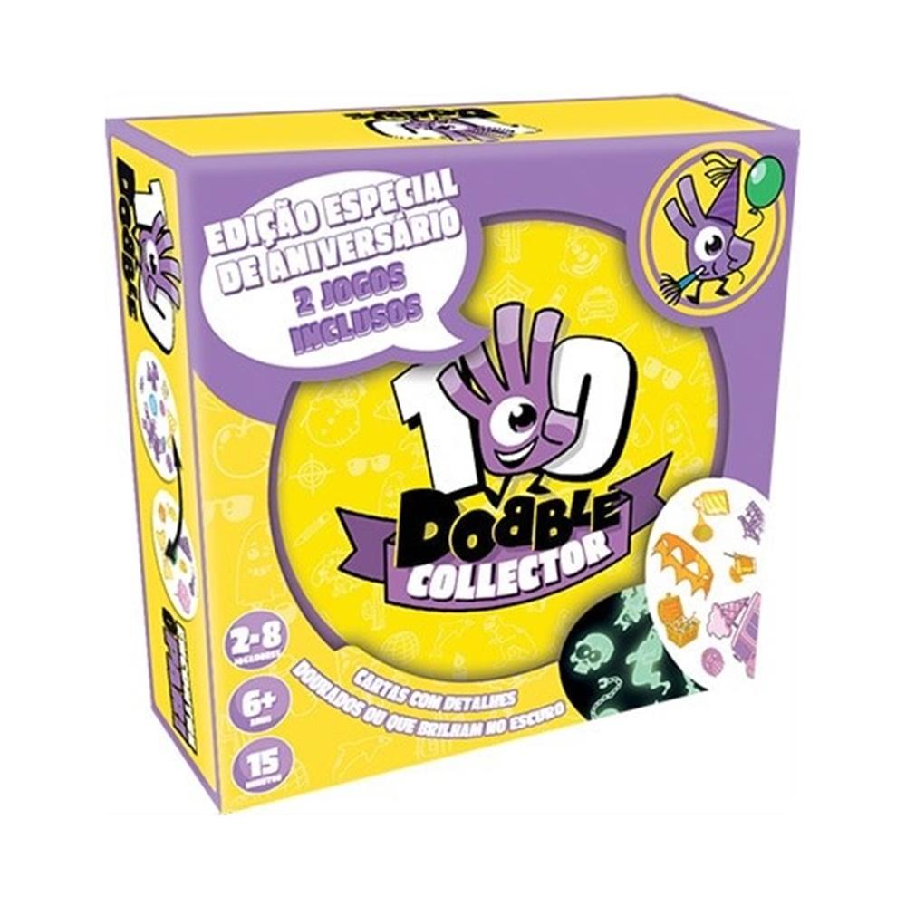 Dobble: Collector - Jogo de Tabuleiro - Galápagos Jogos (em português)