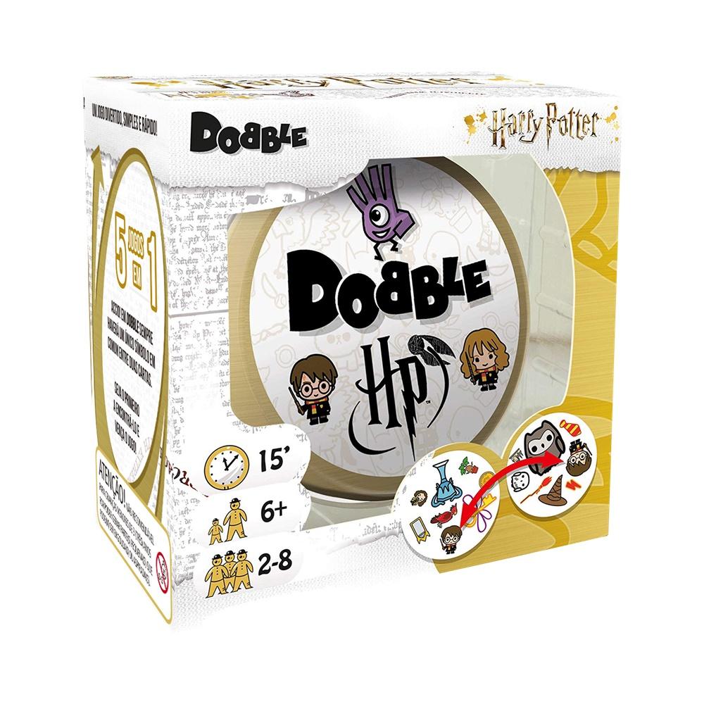 Dobble: Harry Potter - Jogo de Cartas - Galápagos Jogos (em português)