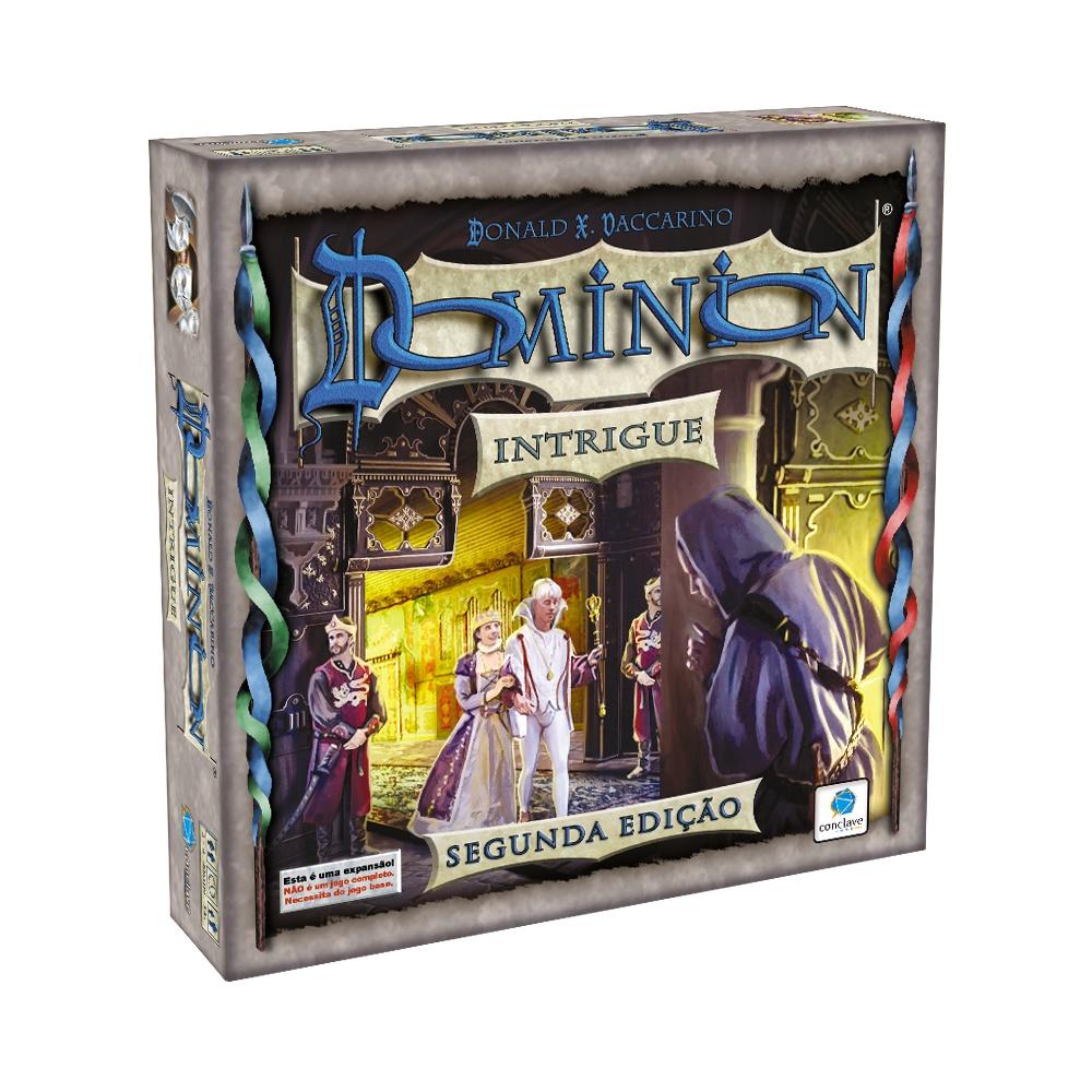 Dominion: Intrigue - Expansão Jogo de Tabuleiro - Conclave Editora (em português)