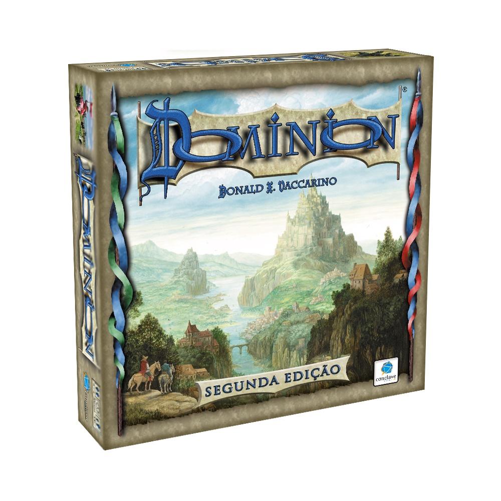 Dominion (Segunda Edição) - Jogo de Tabuleiro - Editora Conclave (em português)