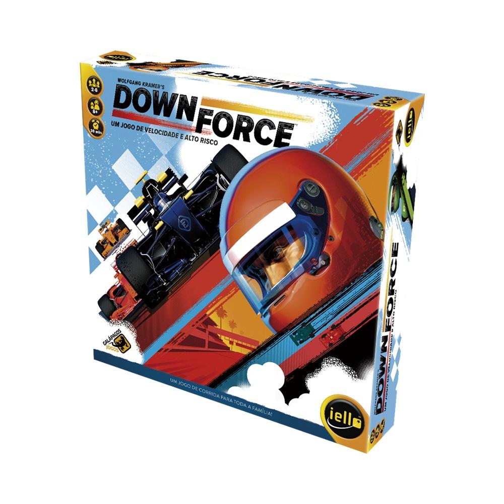Downforce - Jogo de Tabuleiro - Galápagos Jogos (em português)