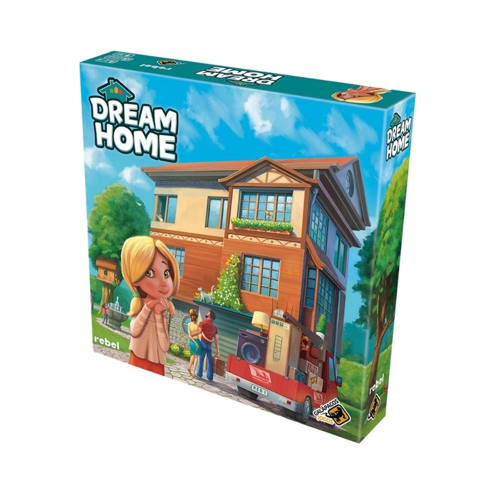 Dream Home - Jogo de Tabuleiro - Galápagos Jogos (em português)