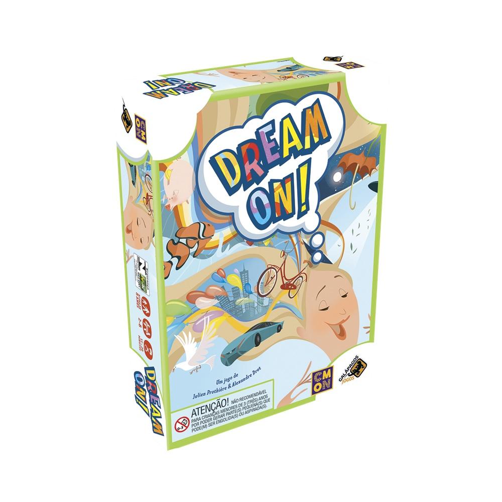 Dream On! - Jogo de Cartas - Galápagos Jogos (em português)