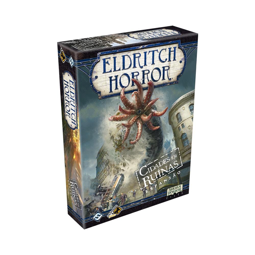 Eldritch Horror: Cidades em Ruinas - Expansão Jogo de Tabuleiro - Galápagos Jogos (em português)