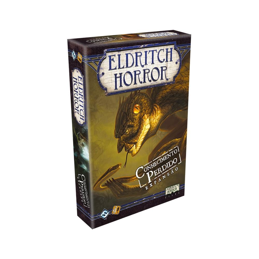 Eldritch Horror: Conhecimento Perdido - Expansão Jogo de Tabuleiro - Galápagos Jogos (em português)