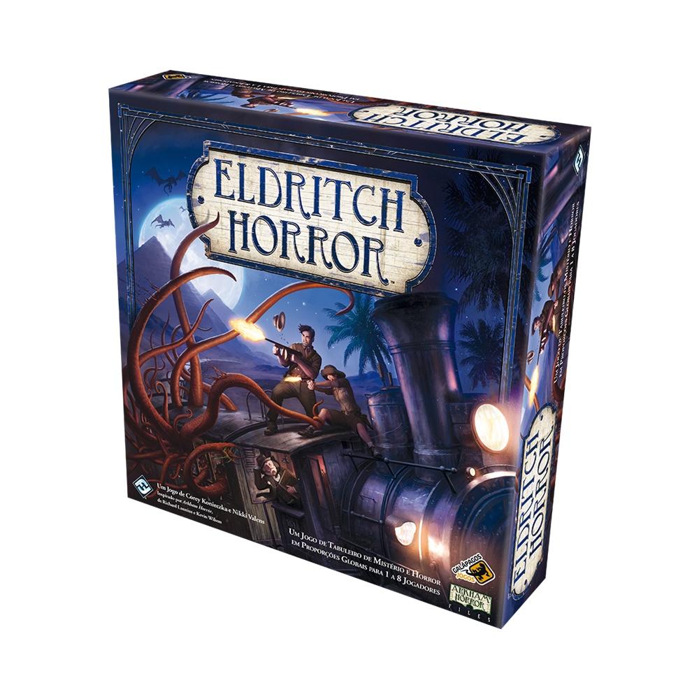 Eldritch Horror - Jogo de Tabuleiro - Galápagos Jogos (em português)