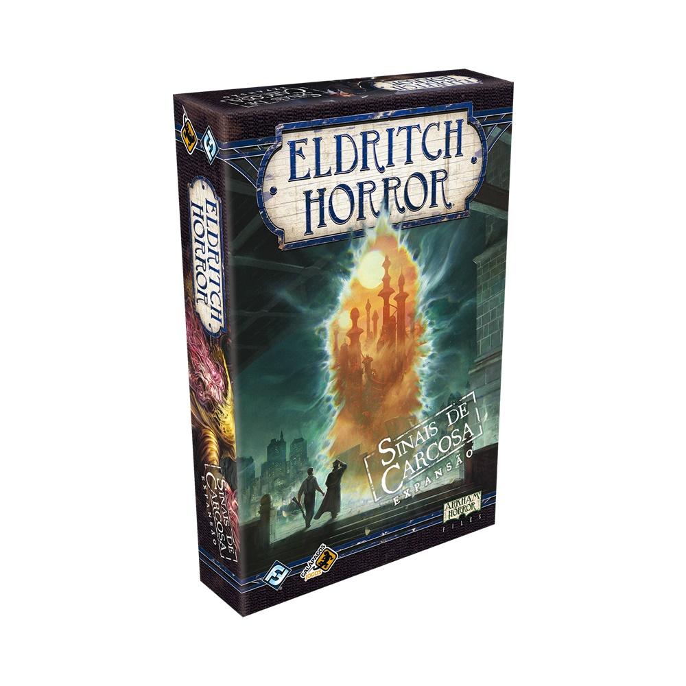 Eldritch Horror: Sinais de Carcosa - Expansão Jogo de Tabuleiro - Galápagos Jogos (em português)