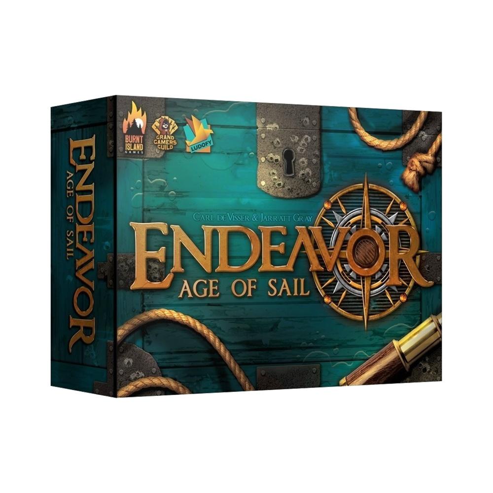 Endeavor: Age of Sail - Jogo de Tabuleiro - Grok Games (em português)
