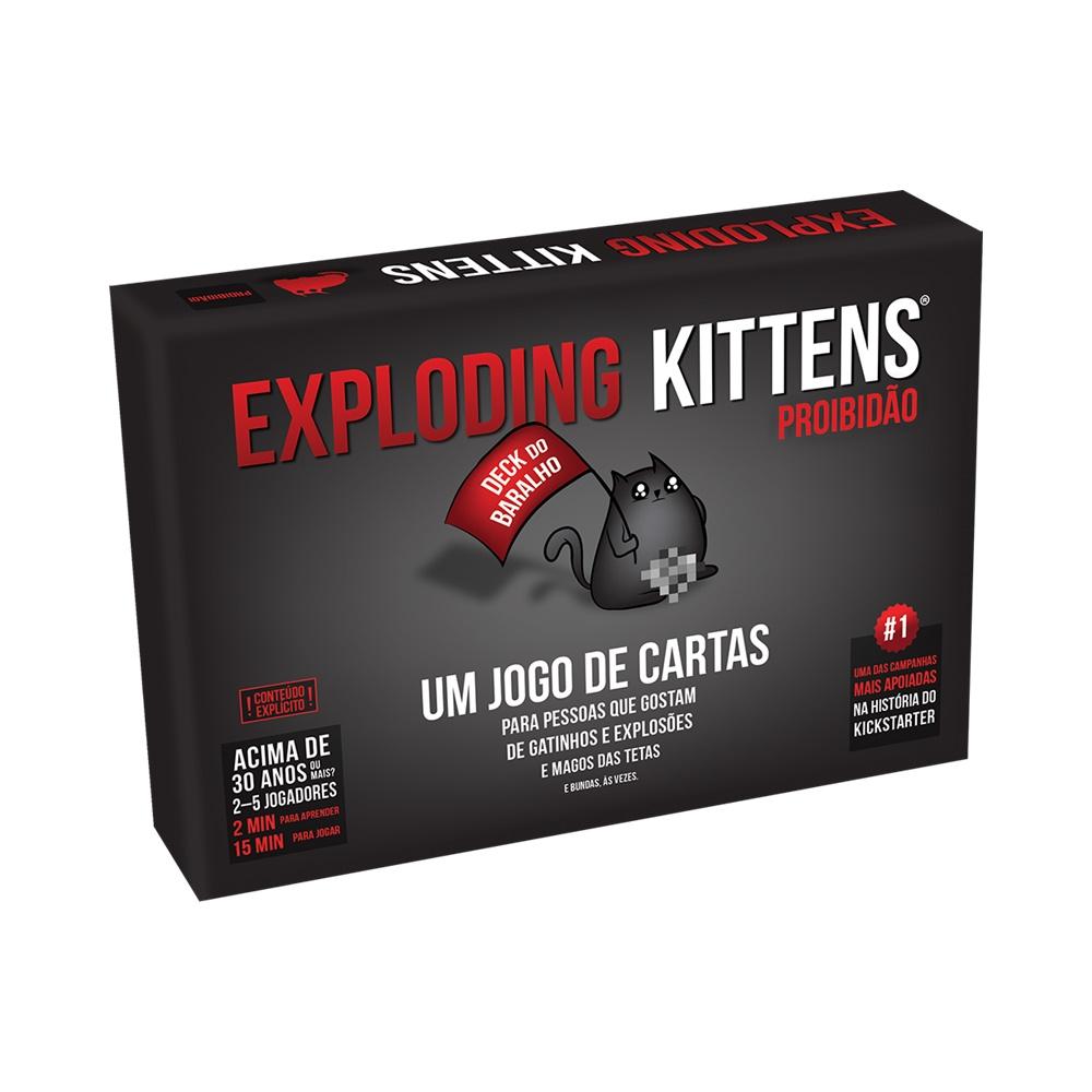 Exploding Kittens: Proibidão - Jogo de Cartas - Galápagos Jogos (em português)