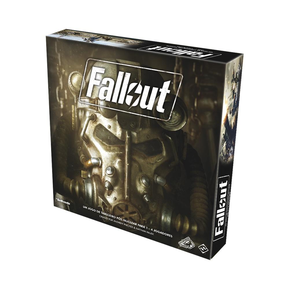 Fallout - Jogo de Tabuleiro - Galápagos Jogos (em português)