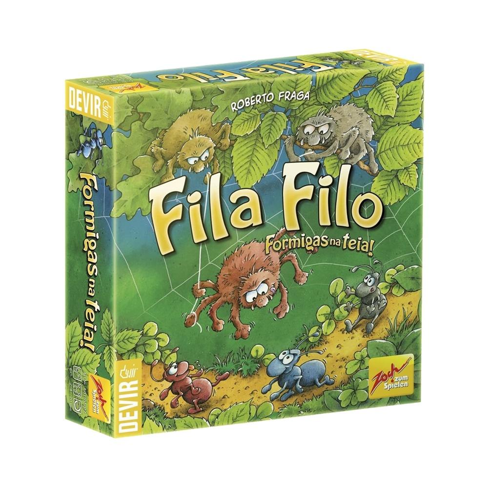 Fila Filó: Formigas na Teia - Jogo de Tabuleiro Infantil - Editora Devir (em português)
