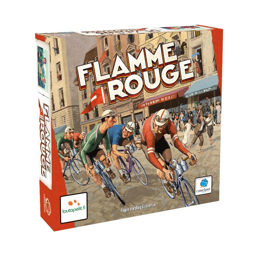 Flamme Rouge - Jogo de Tabuleiro - Editora Conclave (em português)
