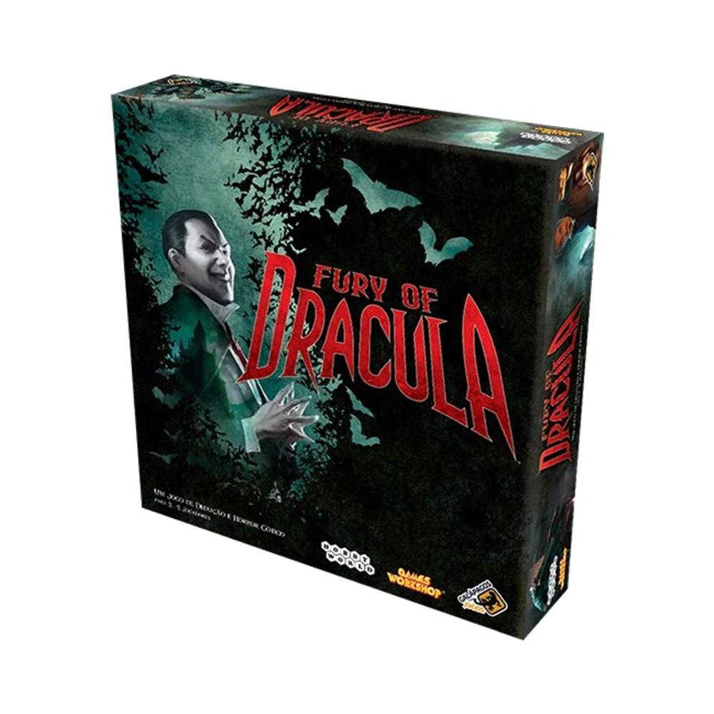 Fury of Dracula - Jogo de Tabuleiro - Galápagos Jogos (em português)