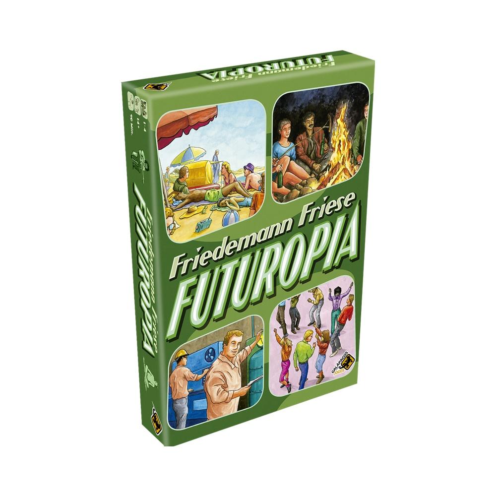 Futuropia - Jogo de Tabuleiro - Galápagos Jogos (em português)