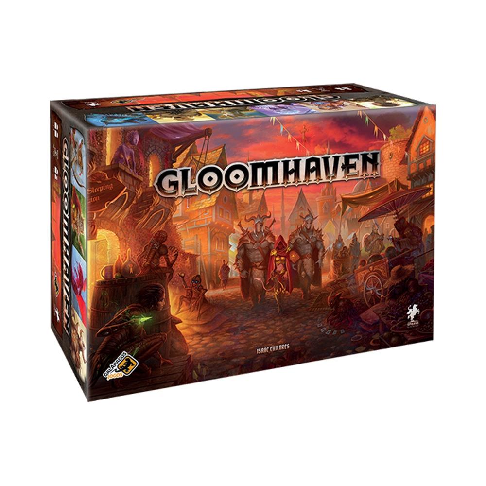 Gloomhaven - Jogo de Tabuleiro - Galápagos Jogos (em português)