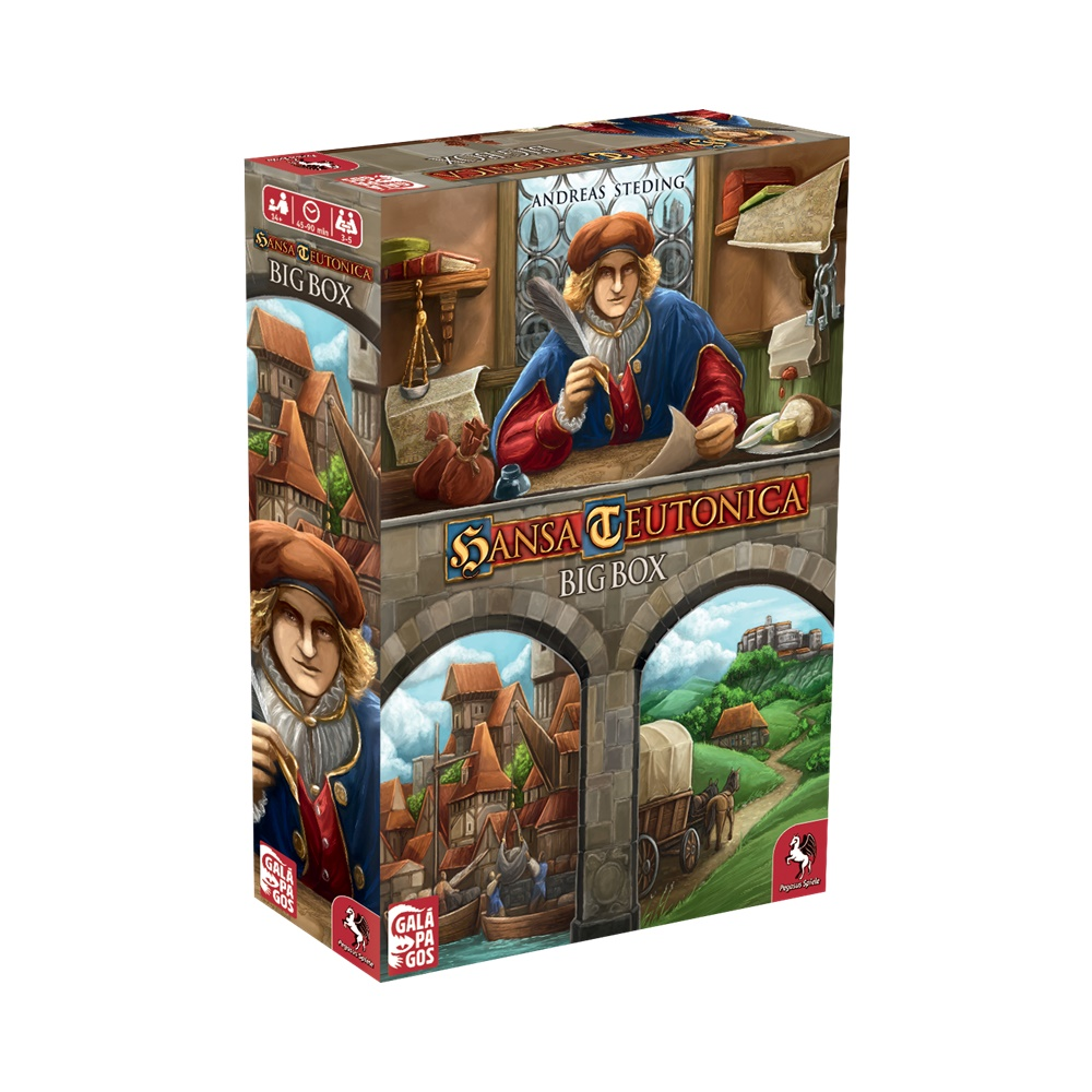 Hansa Teutonica: Big Box - Jogo de Tabuleiro - Galápagos Jogos (em português)