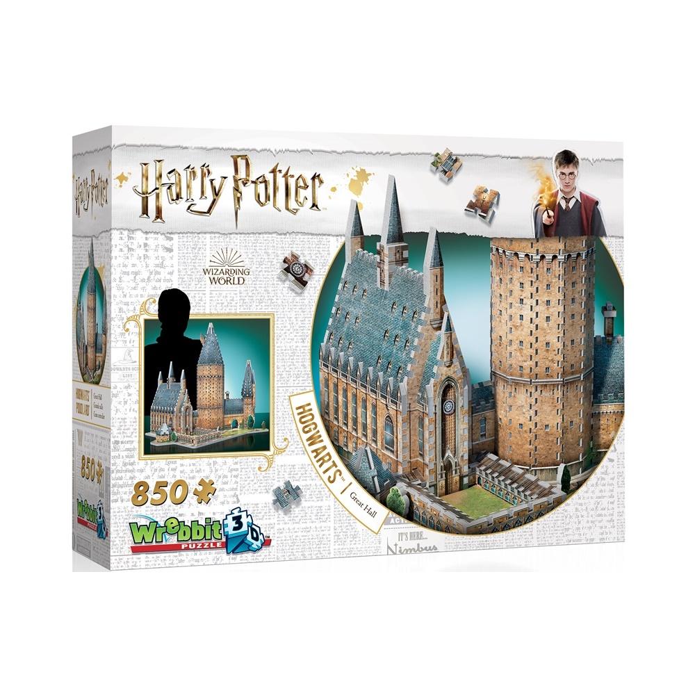 Harry Potter Hogwarts: Salao Principal - Quebra Cabeça 3D