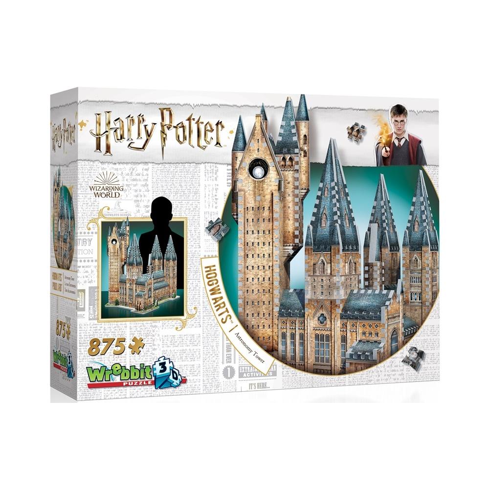 Harry Potter Hogwarts: Torre de Astronomia - Quebra Cabeça 3D