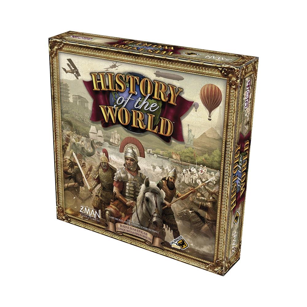 History of the World - Jogo de Tabuleiro - Galápagos Jogos (em português)