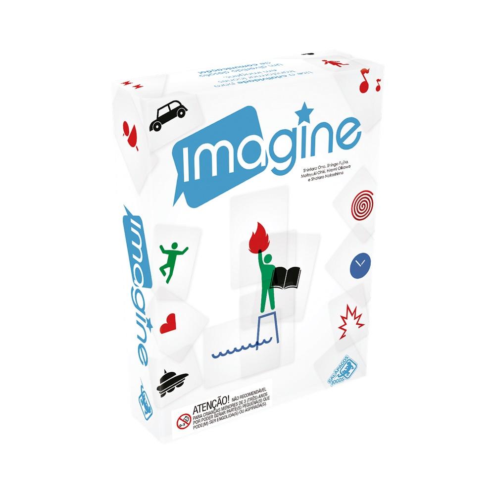 Imagine - Jogo de Cartas - Galápagos Jogos (em português)