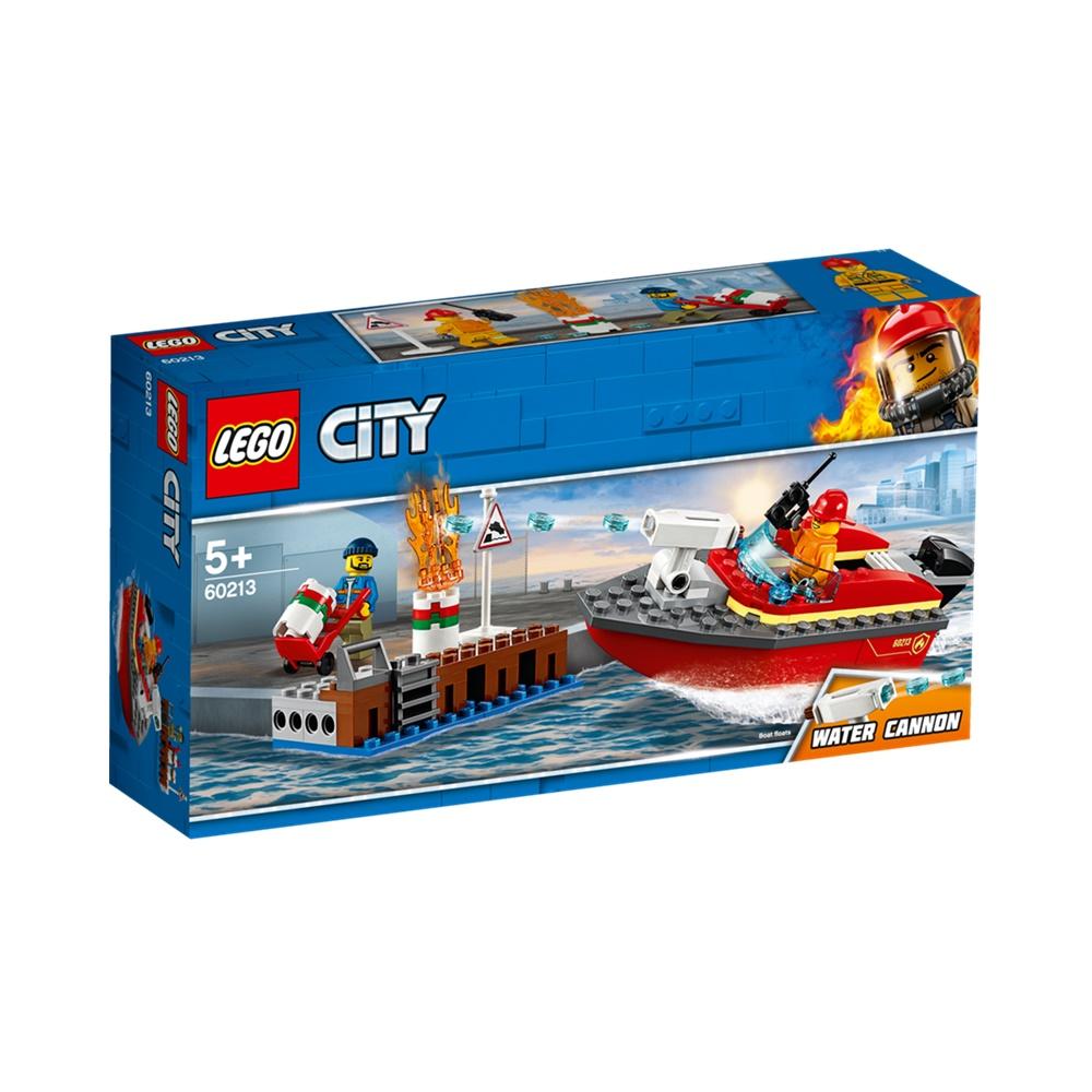 Incêndio na Doca - Lego City 60213 - 97 Peças