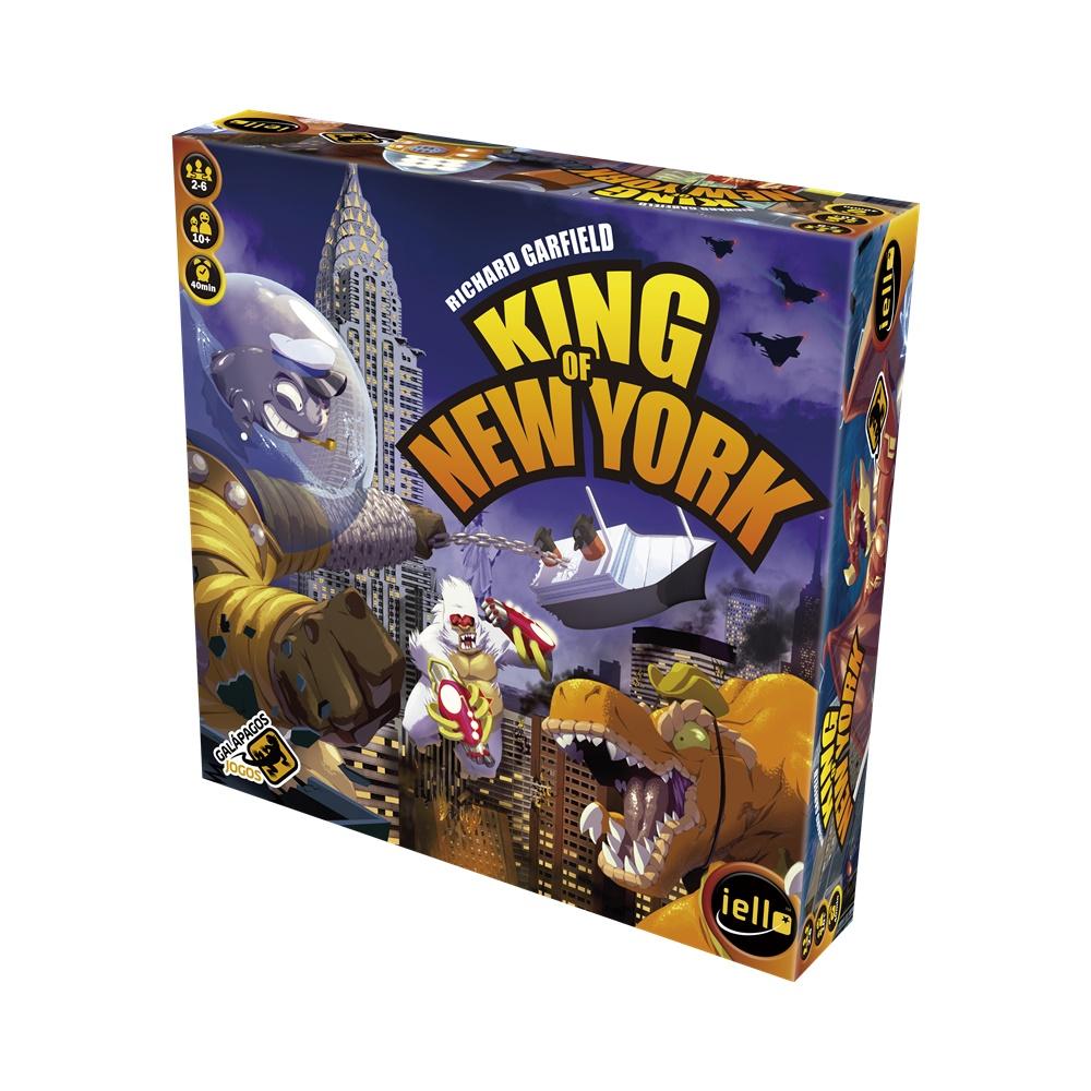 King of New York - Jogo de Tabuleiro - Galápagos Jogos (em português)