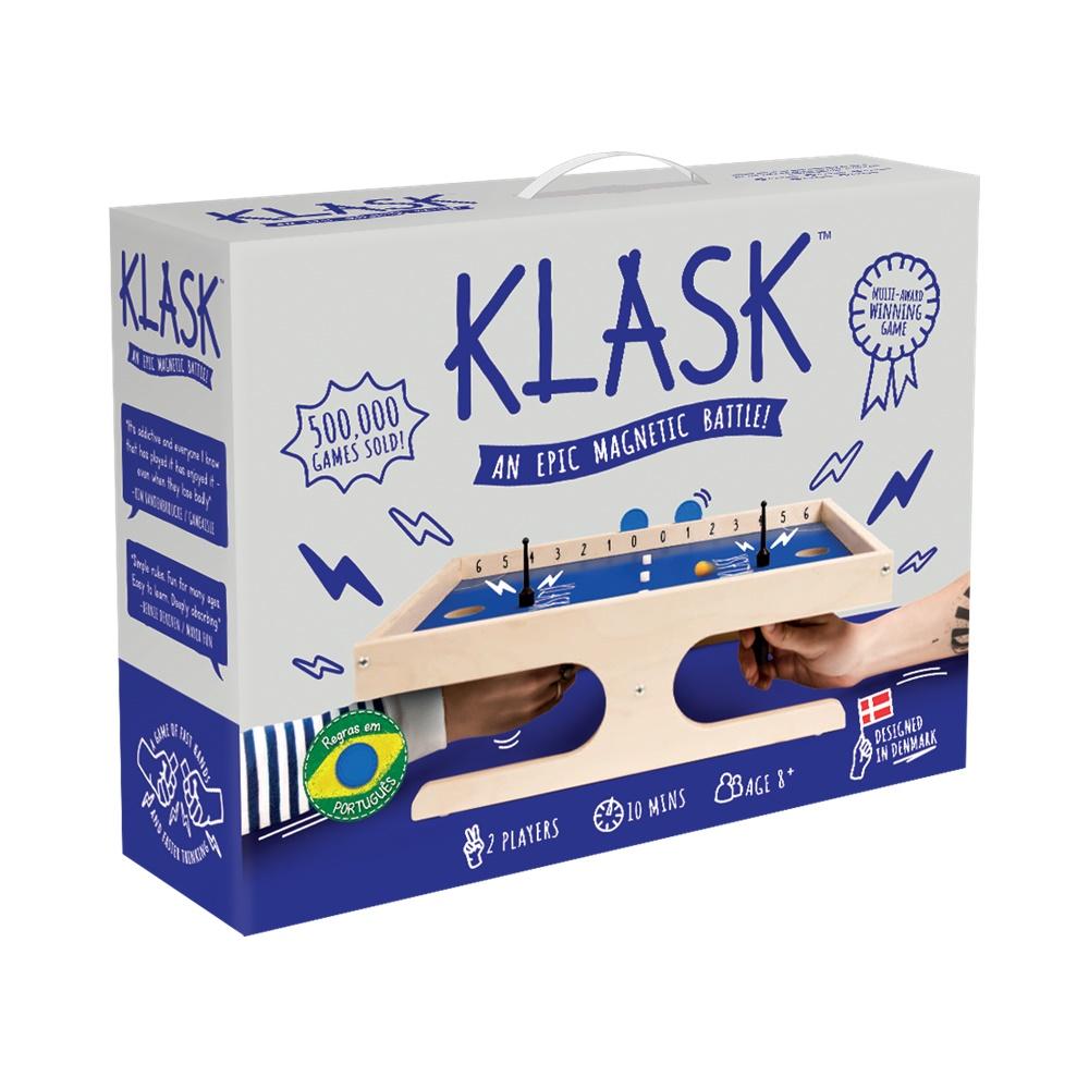 Klask - Jogo de Mesa - Galápagos Jogos (em português)