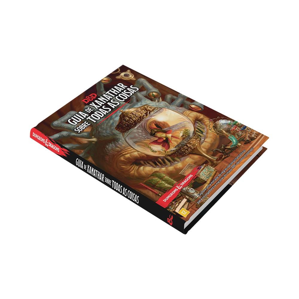 Livro do Guia de Xanathar para todas as Coisas - Livro de RPG - Dungeons and Dragons (D&D)