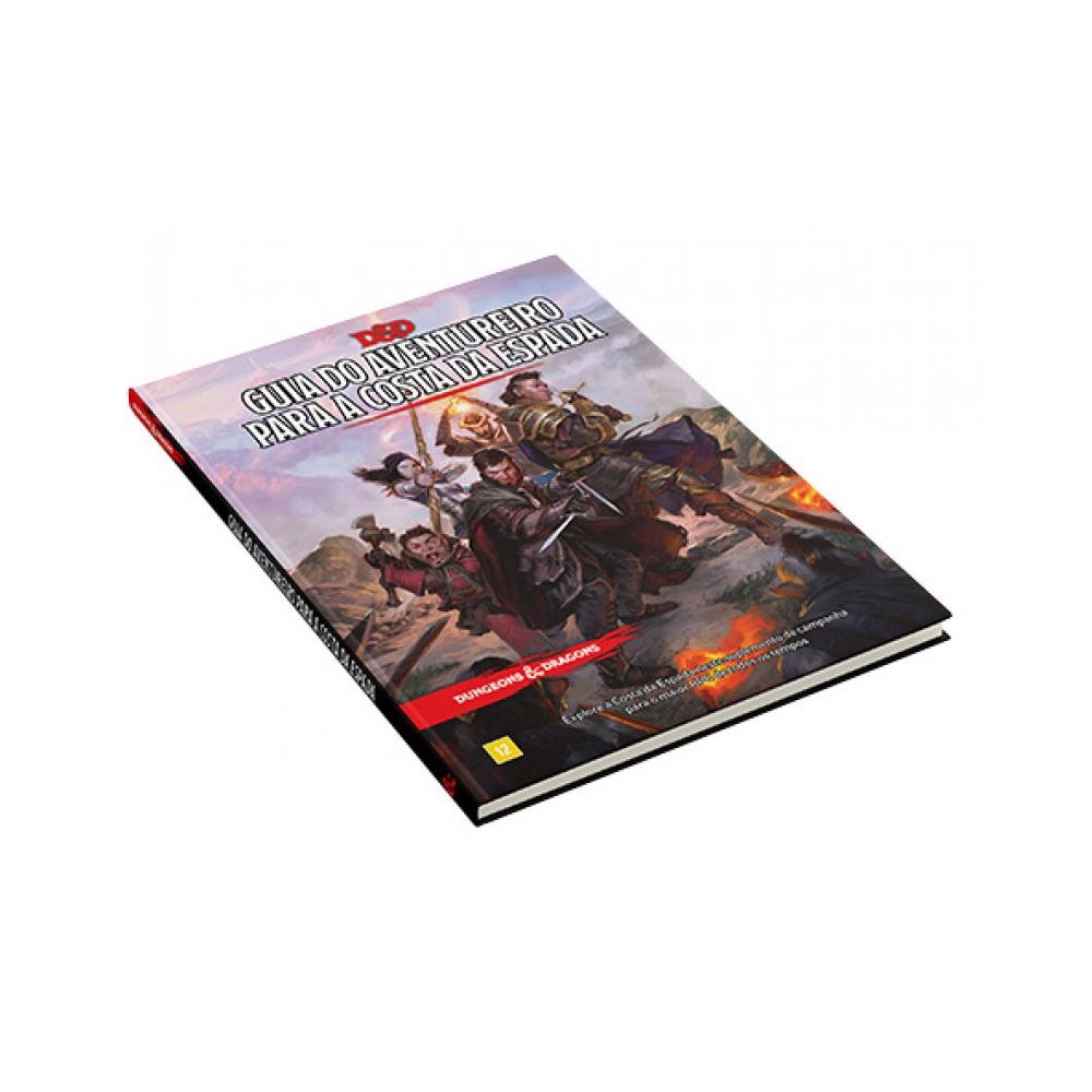 Livro do Guia do Aventureiro para a Costa da Espada - Livro de RPG - Dungeons and Dragons (D&D)