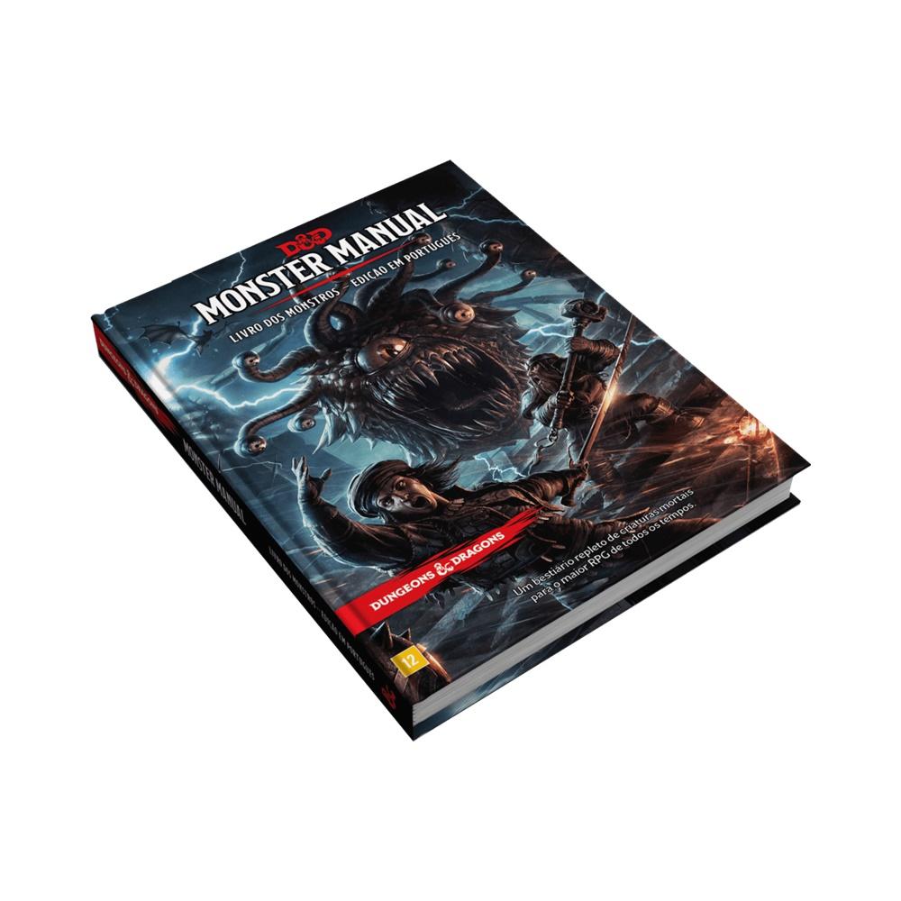 Livro dos Monstros (5ª Edição) - Livro de RPG - Dungeons and Dragons (D&D)