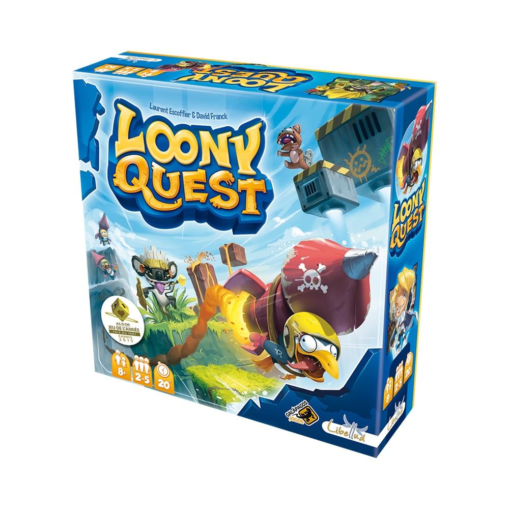 Loony Quest - Jogo de Tabuleiro - Galápagos Jogos (em português)