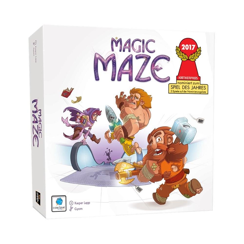 Magic Maze - Jogo de Tabuleiro - Conclave Editora (em português)