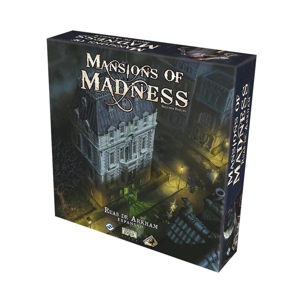 Mansions of Madness: Ruas de Arkham - Jogo de Tabuleiro - Galápagos Jogos (em português)