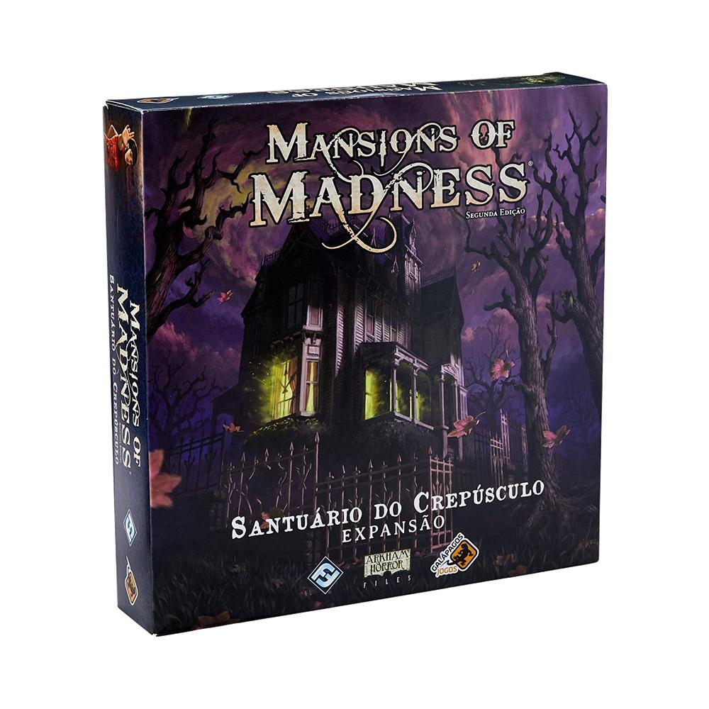 Mansions of Madness: Santuário do Crepúsculo - Jogo de Tabuleiro - Galápagos Jogos (em português)